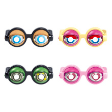 1Pc Crazy Eyes Funny Children Toys Creative Boy Girl Game Play Toy Plastic Glasses