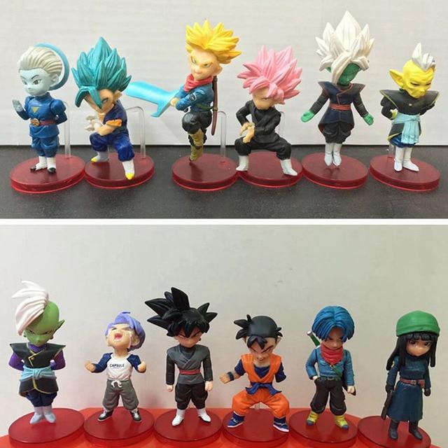1pc Dragon Ball Super Vol7 Trunks Vegetto Zamasu Super Saiyan Rose