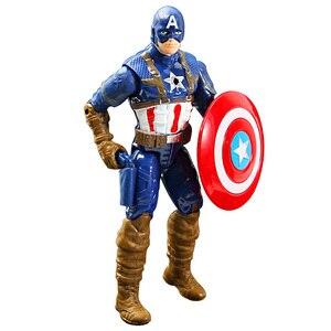 Image 5 - 16cm Marvel Avengers Toy Thanos Spiderman Hulk Iron Man Captain America Thor Ant man Action Figure Toys Model Dolls For Kids