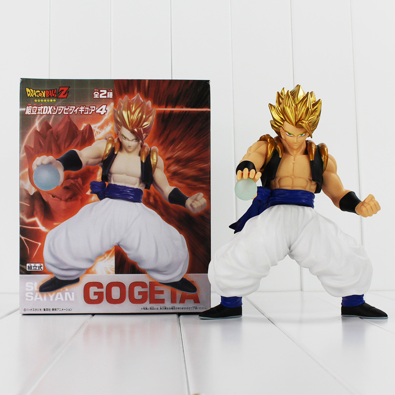 Hot Anime Dragon Ball Z Figure Gogeta PVC Action Figure Vegeta Model for Collection 21cm Doll Cool Kids Toys Free Shipping