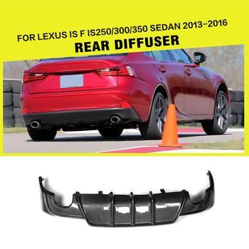 Carbon Faser/FRP Hinten Diffusor Lip Spoiler Stoßstange Wache für Lexus IST IS250 IS300 IS350 2013-2016 IST F Limousine 2013 2014