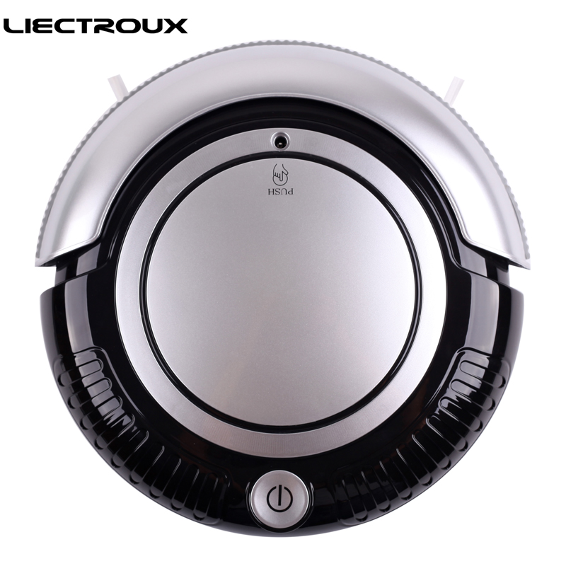 (Russia Warehouse) LIECTROUX K6L 3 in 1 Robot Vacuum Cleaner (Vacuum,Sweep,Mop),2 Side-brushes,Flashing LED Light,3 Working Mode 14 15 15 6 inch flax linen laptop notebook backpack bags case school backpack for travel shopping climbing men women