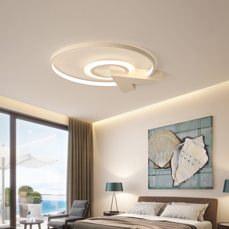 Bedroom led Chandelier Simple modern atmosphere creative personality small living room Study Room Round led Chandelier FixturesBedroom led Chandelier Simple modern atmosphere creative personality small living room Study Room Round led Chandelier Fixtures