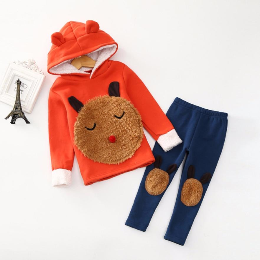 3T-8T High quality winter clothes set New Year's costumes for girls kids pullover Tops+Pants Christmas costumes Princess girls dunlop winter maxx wm01 205 65 r15 t
