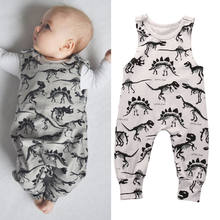ee3145652 2017 Pudcoco Kids Baby Girl Boy Fashion Rompers Brand New Dinosaur Infant  Romper Jumpsuit Sleeveless Animals Outfit set 1pcs Hot