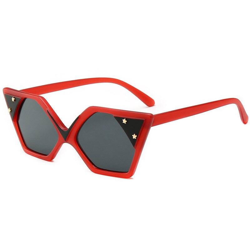 6 Personalità 2 2019 Piatto Femminile Occhiali Donne Rosa A Sole 4 Occhio Rivetto Signore Del 1 Oro Oculos Di Specchio In Marca Delle De 5 Progettista 3 Gatto Da wqf8wrS