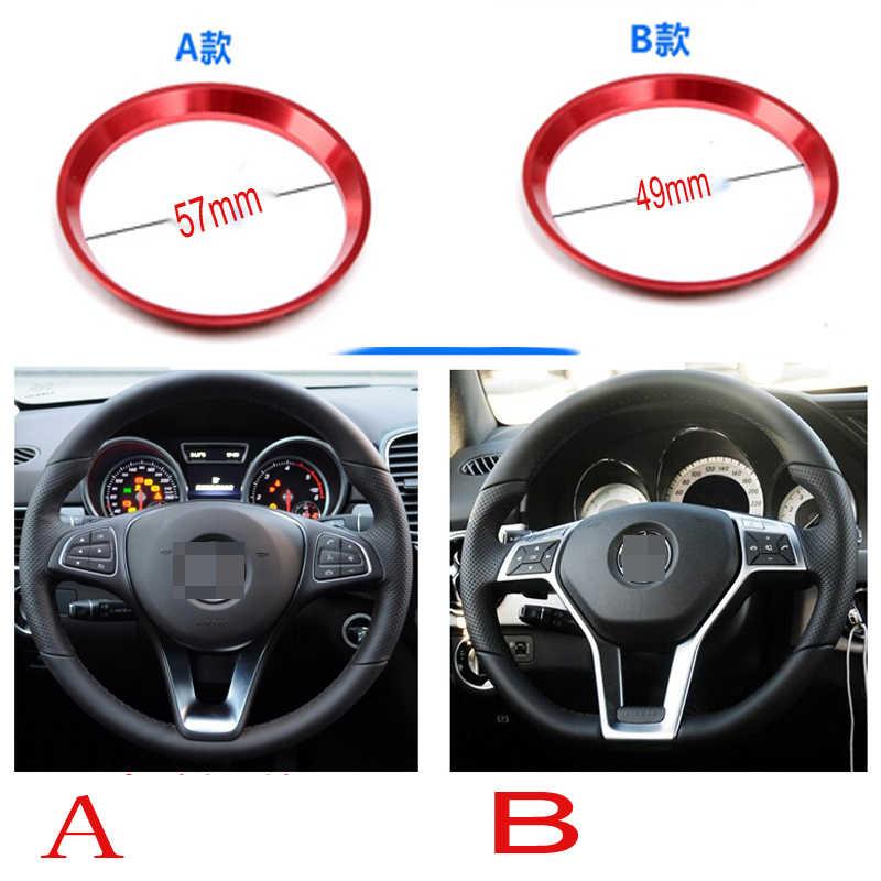 アルミ車のステアリングホイールのためのベンツamg w204 w211 W210 clk c180 e200 cla glk gle glc A180 abcクラス