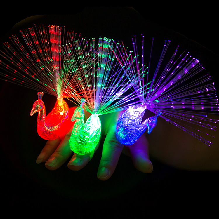 Creative Luminous Ring Finger Light Colorful Luminous
