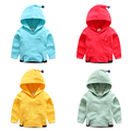 Male child hooded sweatshirt spring and autumn 2017 children's clothing hoodie baby outerwear child casual top