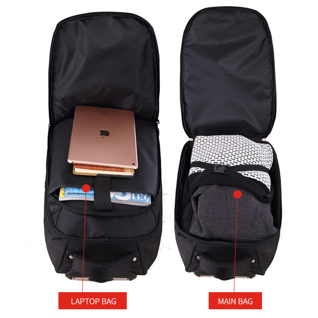 MAGIC UNION Trolley School Bags boy Backpacks Brand Design Teenagers Best Students Travel Business Waterproof Schoolbag 3