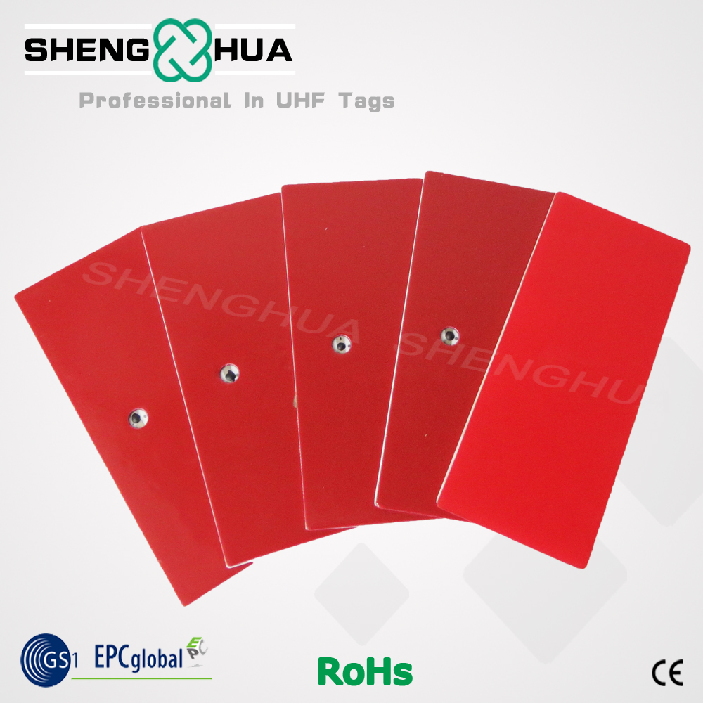 10pcs/pack High Temperature Acceptable UHF RFID Windshield Sticker Tag For Car Management