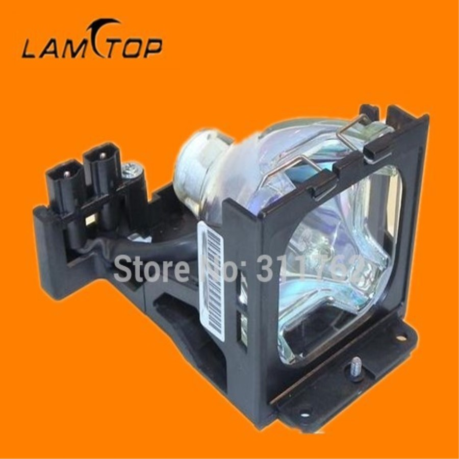 Compatible Projector bulb/projector lamp with cage  TLP-LV1 fit for TLP-S30  TLP-S30U   free shipping compatible bare bulb lv lp33 4824b001 for canon lv 7590 projector lamp bulb without housing