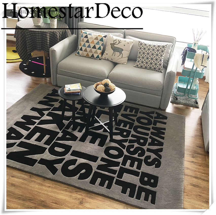 Custom Logo Carpet Rugs Living Room Area Rug Thick Bedroom Table Desk Mat Floor Home Textile Decoration In From