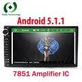 Android 5.1.1 HD 1024*600 экран Quad core RK3188 ROM 16 Г 2 DIN универсальный автомобиль радио gps с wifi стерео аудио нет DVD-ПЛЕЕР