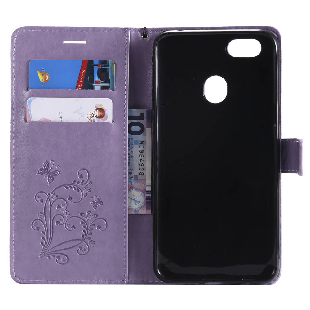 US $4 59 8% OFF|Embossed Covers On For OPPO CPH1725 A73V1 A73V2 F5 Youth  32GB Book Flip Cases For Oppo F5 Youth Dual SIM Cases TPU Full Housing-in