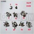 10 Sets Inner Pequenas Peças de Metal Titular Bracket Escudo Placa Lógica de Casa Kit repalce accesoory para iphone 6sp 6 s 6 6 ps 5S 5c 5 4S 4