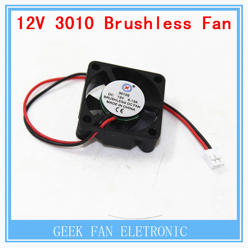 GDT 3010s 30MM 30 x 30 x 10MM 12V 2Pin DC Cooler Small Cooling Fan for 3D printer part