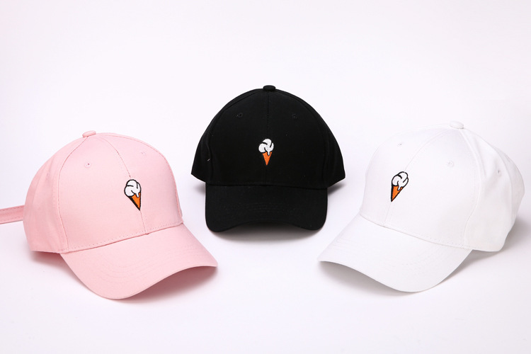 Mode Frauen Hut Sommer stickerei Baumwolle Baseball Cap Jungen Mädchen Hysterese Hip Hop Flachen Hut Casquette Femme Sport