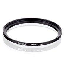 Original RISE (royaume uni) 72mm 77mm 72 77mm 72 à 77 adaptateur de filtre à anneau dentraînement noir