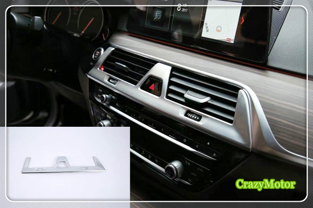 US $20 94 12% OFF|For BMW 5 SERIES G30 2017 2018 (Left hand drive) Interior  Front Central Console Air Condition AC Vent Outlet Cover car styling-in