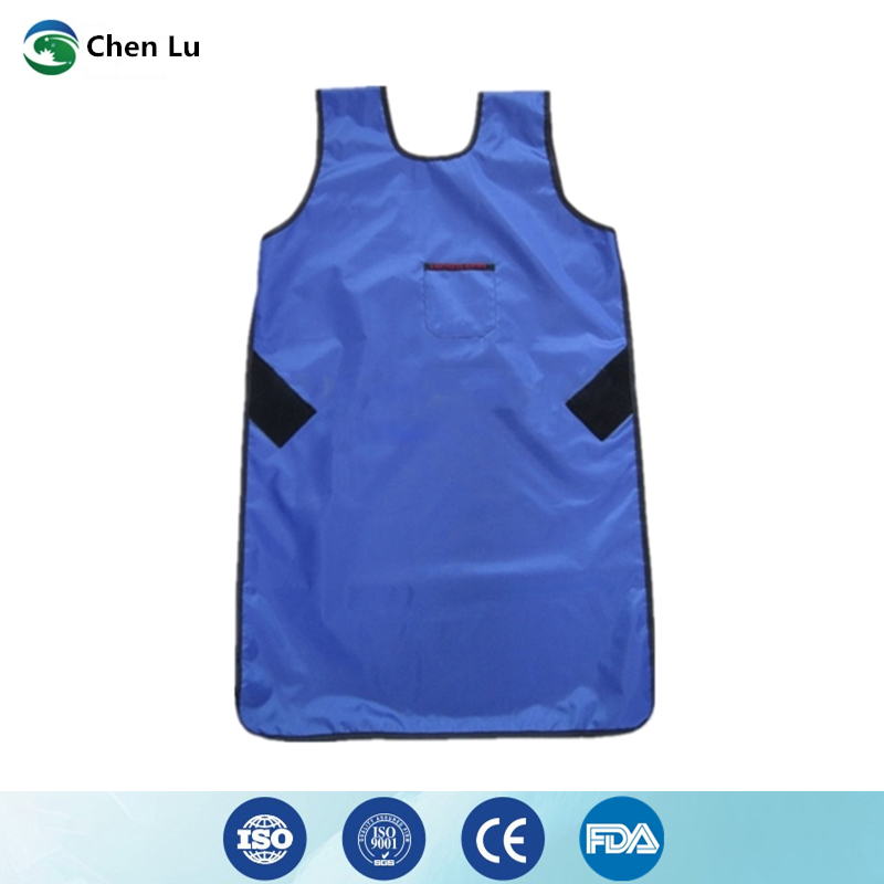 Hospital medical uses of ionizing radiation protection 0.5mmpb long apron gamma ray and x-ray protective lead clothing