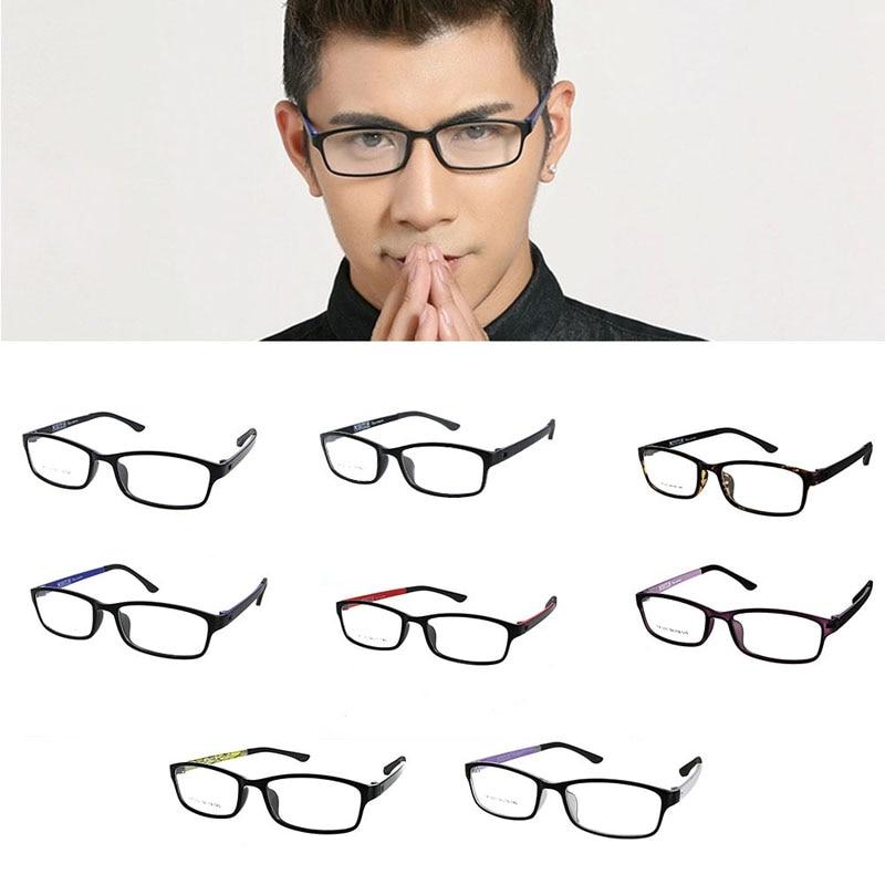 1PC Spectacles Glasses TR90 Ultralight Black Eyeglasses Full Frame Rim Eyewear -Y107