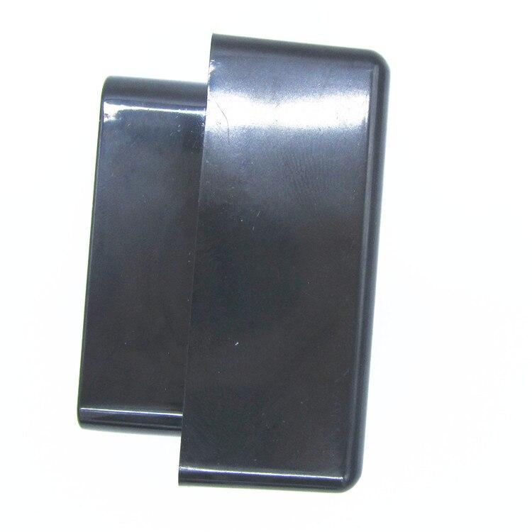 10 pz ELM327 Cassa Nera OBD2/OBDII ELM 327 Black Caso soltanto il Trasporto Libero di caso