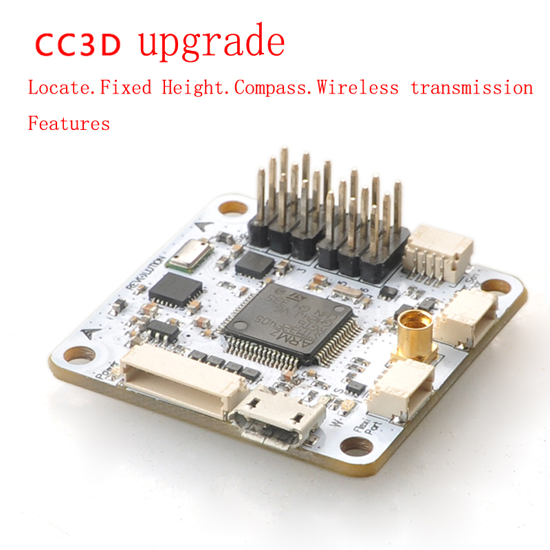 RC Quadcopter FPV OpenPiolot CC3D Revolution Flight Controller Upgrade Integrating dron Barometer Compass Toys Fast shipping aliexpress com buy rc quadcopter fpv openpiolot cc3d revolution CC3D Manual at bakdesigns.co