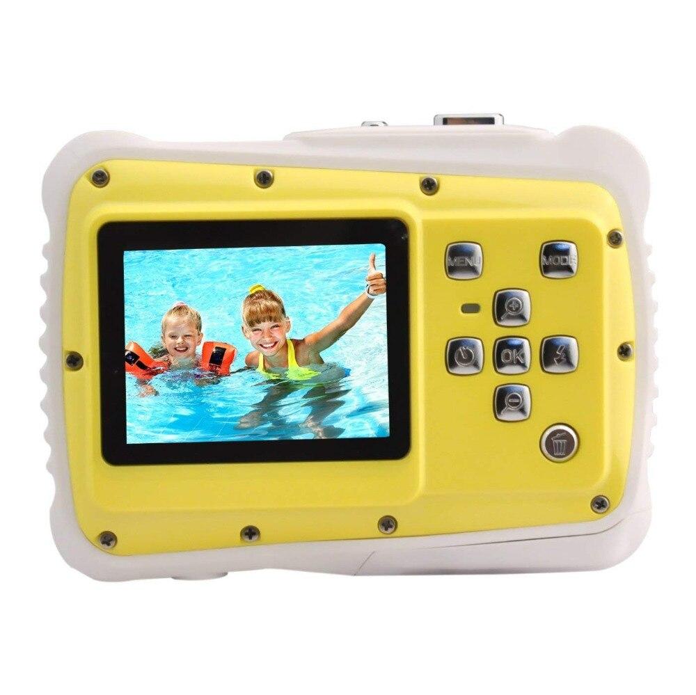 Mini appareil photo numérique étanche 5MP 2.0 pouces LCD HD appareil photo numérique enfants enfants cadeau d'anniversaire appareil photo sport pour la natation