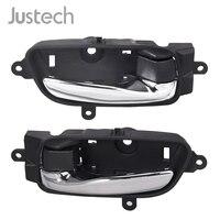 Justech Brand New Car Inside Interior Door Handle Left 80671 3TA0D 80670 3TA0D Chrome Handle For Nissan Altima Pathfinder Titan