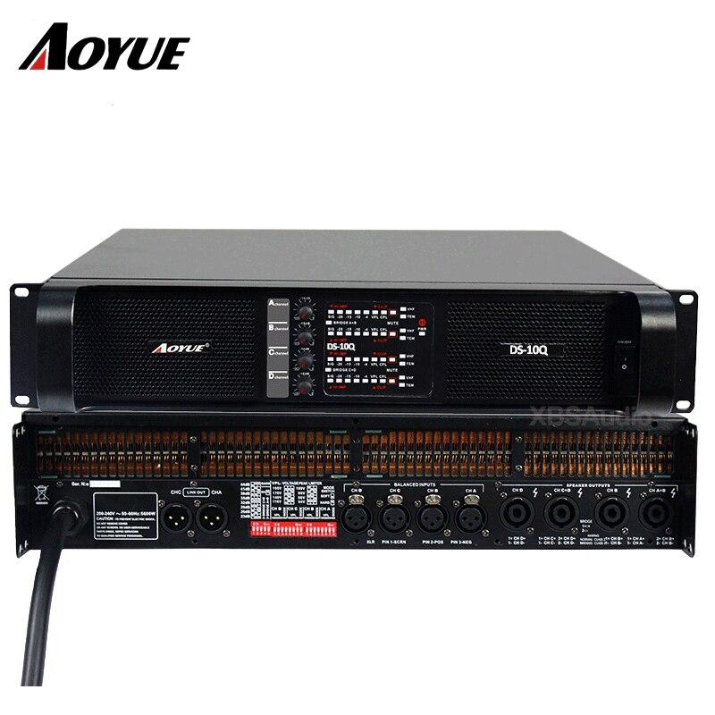 Amplificador 4 canales DS-10Q amplificador de potencia profesional fábrica