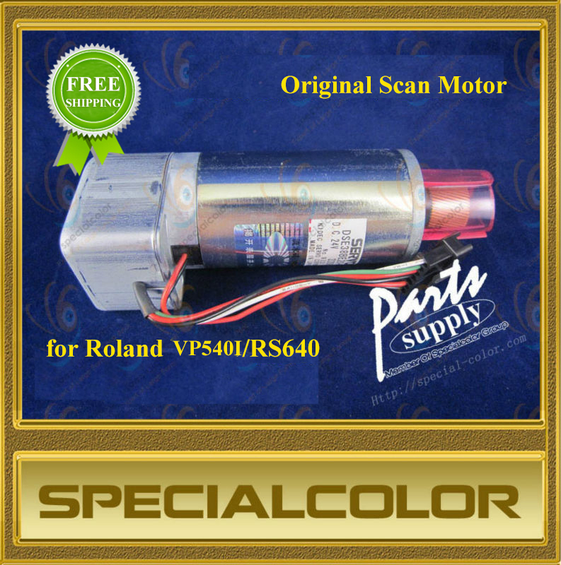 Roland RS640 Scan Motor Original VP540I Scan Motor from Japan roland scan motor for vp 540 rs 640 sp 540i printer parts