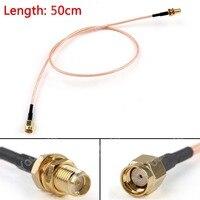 Areyourshop распродажа 50 см кабель RP SMA штекер к гнездовой вилке проходной обжимной разъем RG316 20in Pigtail FPV M