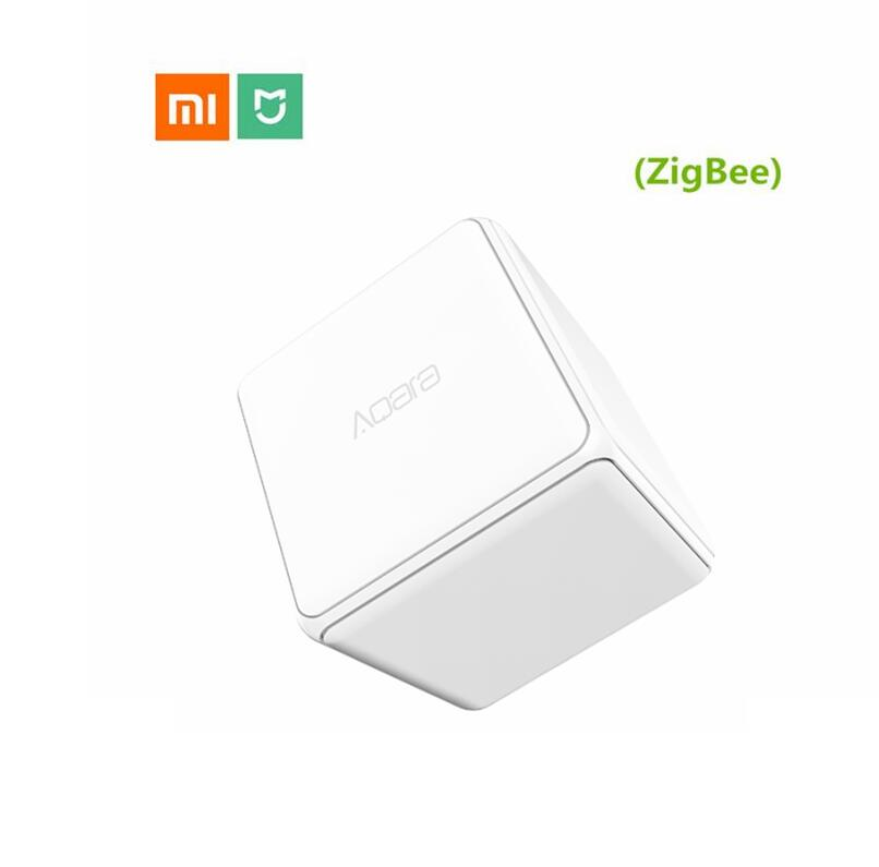 original Xiaomi Mi aqara Magic Cube Controller Zigbee Version Controlled Six Actions Smart Home Device work with mijia home app цены онлайн