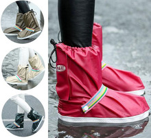 wholesale New fashion 4 colors rain Shoes Covers Waterproof for Women and men zapatos cubren reusable overshoes