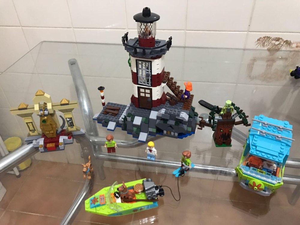 цена на Encantada de Scooby Doo Modelo Ladrillos Bloques 3D Regalos de Juguetes Ninos brinquedos Birthday gift dropshipping