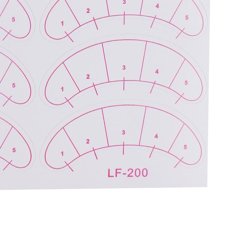Hot Sale 100% Lint Free Eye Patch Thin Flexible Under Eye Pads Vinyl Sticker, Eyelash Extension Training Patches Freeshipping
