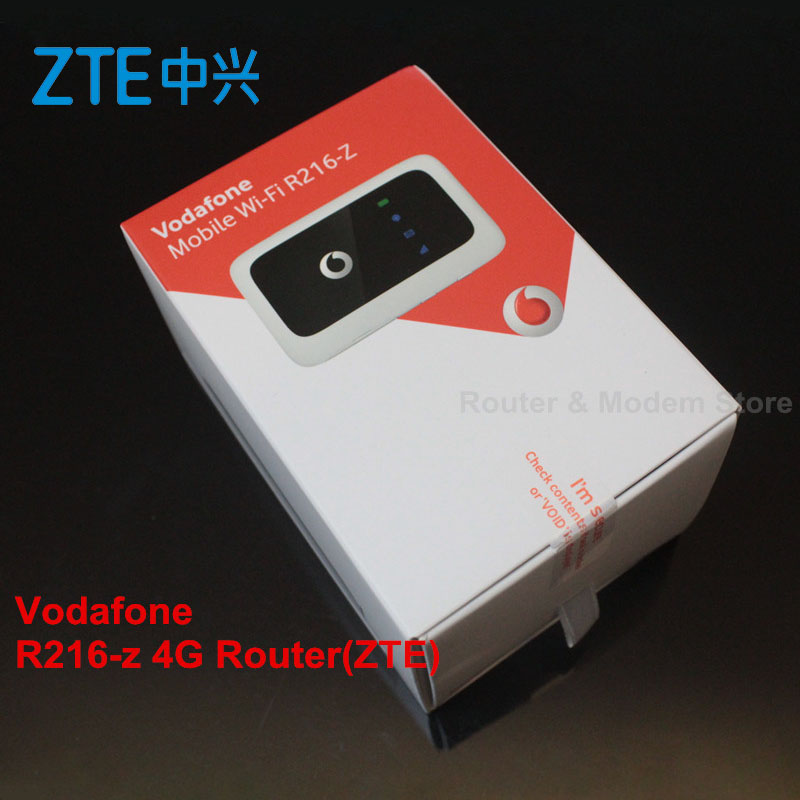 Used Vodafone R216 R216 z 4G LTE with TS 9 antenna Pocket Wifi wireless router pk Huawei E5573 E5577