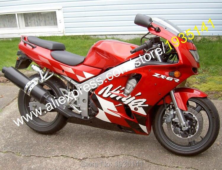 For Kawasaki ZX6R 1994 1997 Motorcycle Fairings Full Set Aftermarket Body Kits