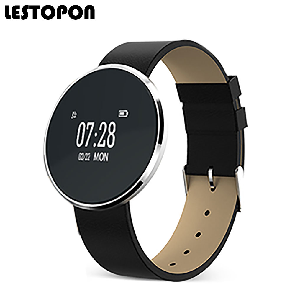 LESTOPON New Smart Band Bracelet Smartband Fitness Tracker With Heart Rate Monitor Blood Pressure Pedometer Message Reminder