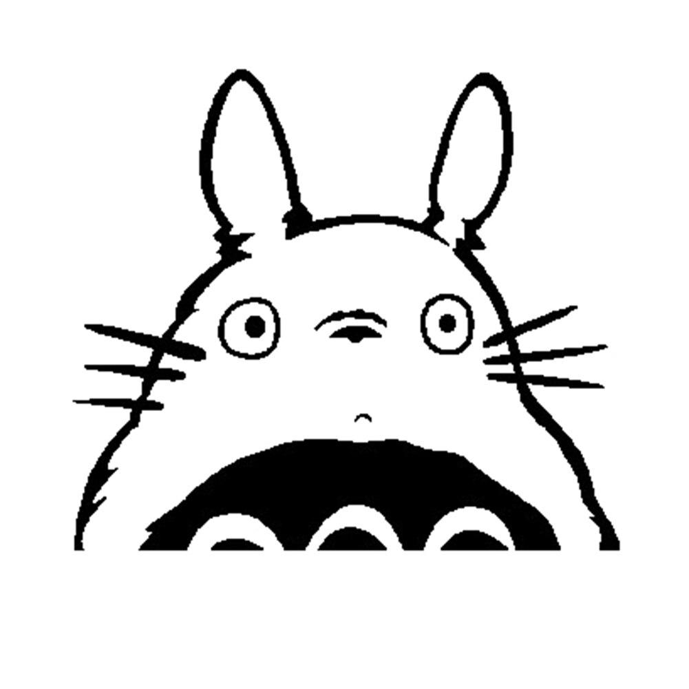 Тоторо серии винила переключатель Стикеры Cat Наклейки на стену для детской комнаты Дома ...
