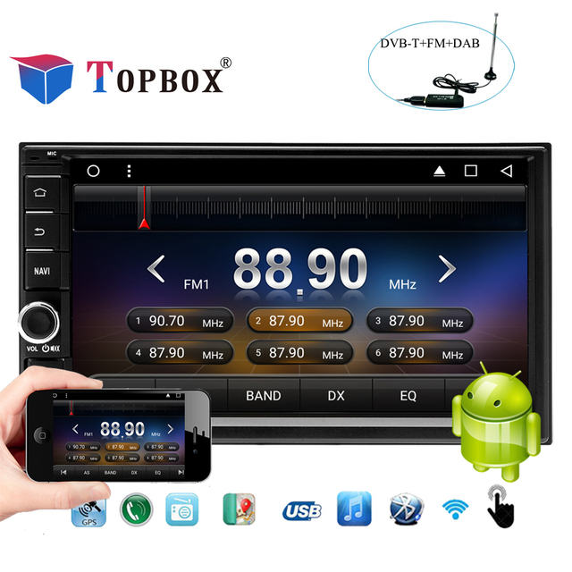 "topbox 7"" 2 din android 7 1 car multimedia video play car radio gpstopbox 7\"" 2 din android 7 1 car multimedia video play car radio gps navigation auto"