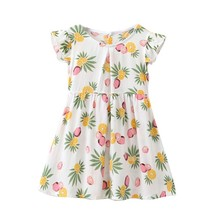 Summer Toddler Kids Girls Twinning Princess Beachwear Dress