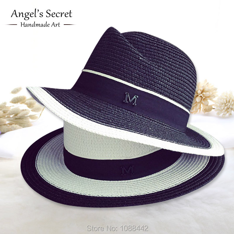 black jazz hats for new 2016 white sun hat