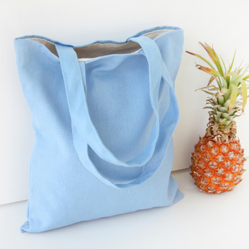 2018 Eco Reusable Shopping Bags Cloth Fabric Grocery Packing Recyclable Bag Hight Simple Design Healthy Tote Handbag Fashion