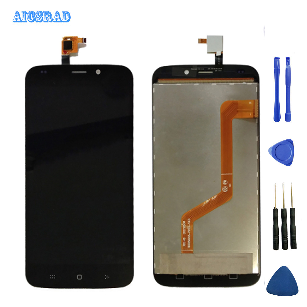 AICSRAD Digitizer Glass Panel For DEXP Ixion M255 Pulse LCD Display Touch Screen assembly Replacement M
