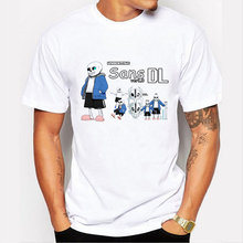 Game Undertale Men T-Shirt 3D Undertale sans and papyrus Top Shirt skulll brother anime geek Big Boy T shirt clothing 84-5#