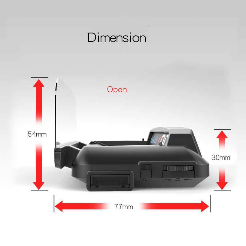 2019 جديد سيارة HUD OBD2 II EUOBD رئيس يصل عرض السرعة الزائدة جهاز عرض لنظام الإنذار الزجاج الأمامي السيارات الإلكترونية الجهد إنذار