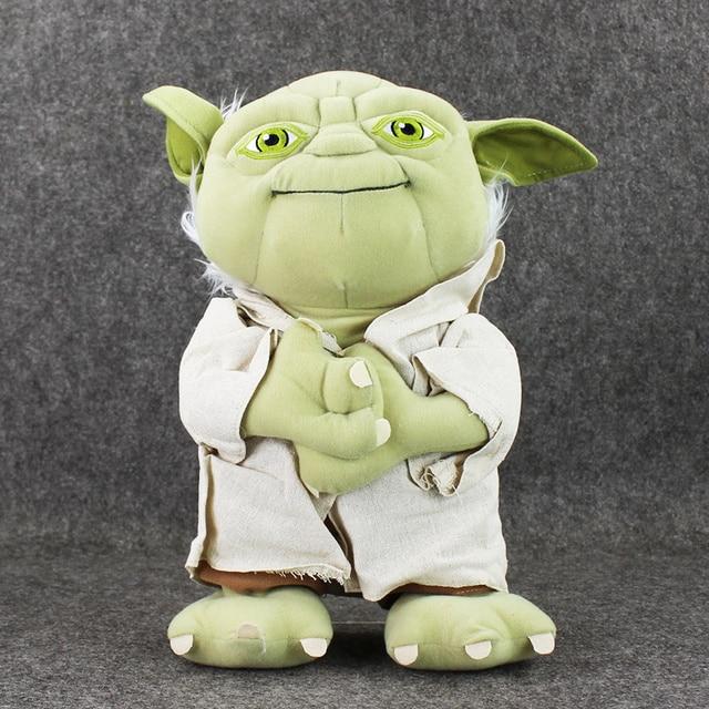 35cm Star Wars Yoda Plush Toys Soft Stuffed Kids Doll Yoda Soft Toys