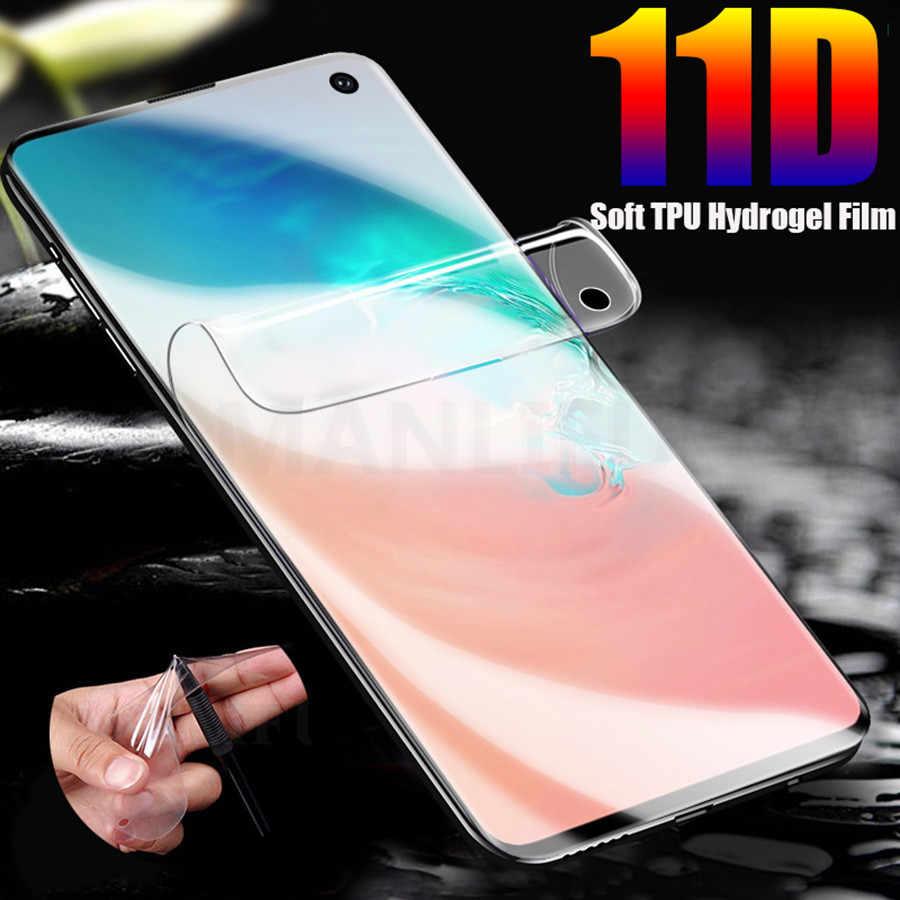 11D Mặt Trước Sau TPU Mềm Hydrogel Full Cao Cấp Bảo Vệ Màn Hình Trong Cho Samsung Galaxy S10 S9 S8 Plus Note 8 9 s7 Edge Trong Suốt Bộ Phim